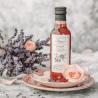 Syrop z kwiatów - płatki róży, lawenda i czarny bez