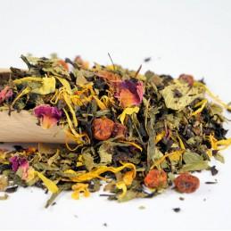 Czarna herbata Owocowa Kraina Poziomek 13,20zł