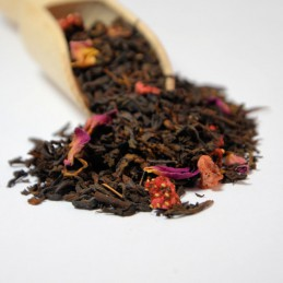 Czerwona herbata Pu-erh Truskawkowe Pole 12,80zł