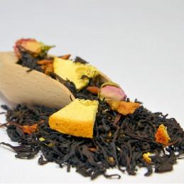 Amarantowa fantazja to idealna propozycja  dla fanów  orzeźwiającego smaku owoców tropikalnych.