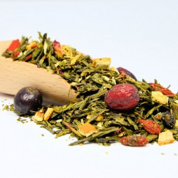 Zielona herbata Sencha z owocami Goji 13,40zł