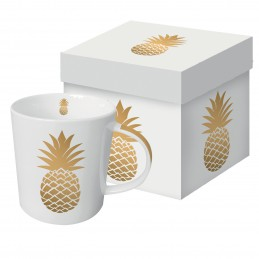 "Akcesoria/ceramika Kubek jumbo ""Golden Pineapple"" - 350 ml 70,00zł"
