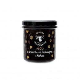 Delikatesy Miód z orzechami laskowymi i kakao 410 g 33,00zł