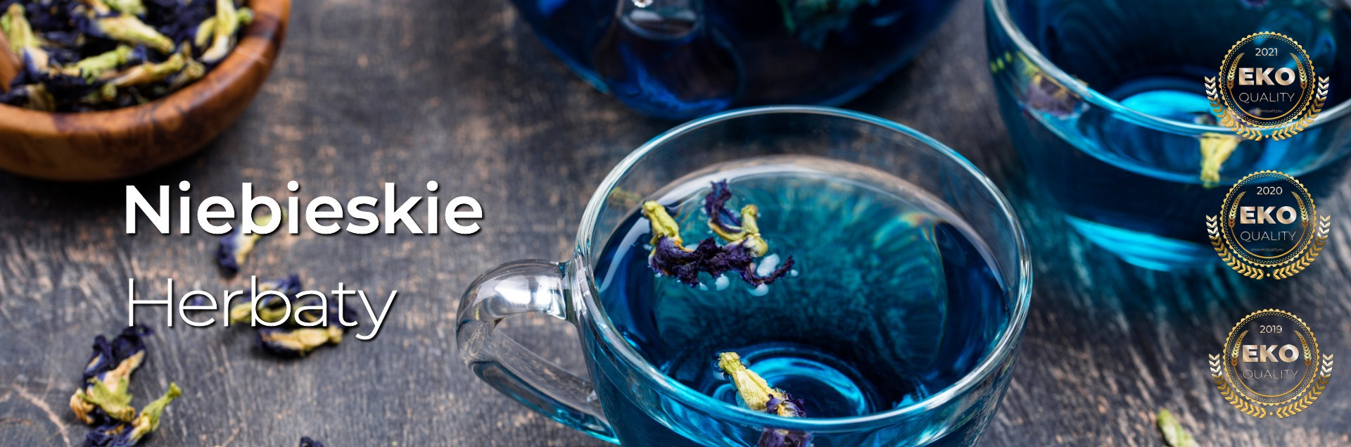 Niebieskie Herbaty